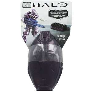 Mega Bloks Halo Grenade Metallic Series Figure - Dark Purple £2 @ The works
