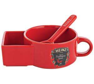 Heinz Soup Bowl with Bread holder and spoon, was £5.99 Now £3.99 @ Argos
