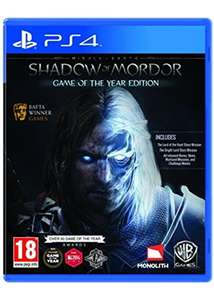 Middle-Earth: Shadow of Mordor GOTY (PS4 £11.49 / XBOX ONE £11.99) @ BASE