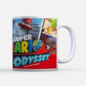 Free Nintendo Mug worth £11.99 when you buy a t-shirt at IWOOT + FREE DELIVERY