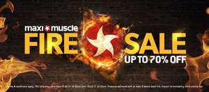 Fire Sale - Up to 70% Off @ MaxiNutrition