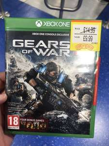 Gears of war 4 plus 4 bonus games £9.99 @ Smyths - staples corner