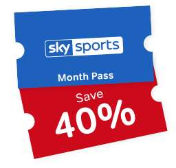 Now TV - 40% off Sky Sports Month passes for 2 months (£20/month) £40