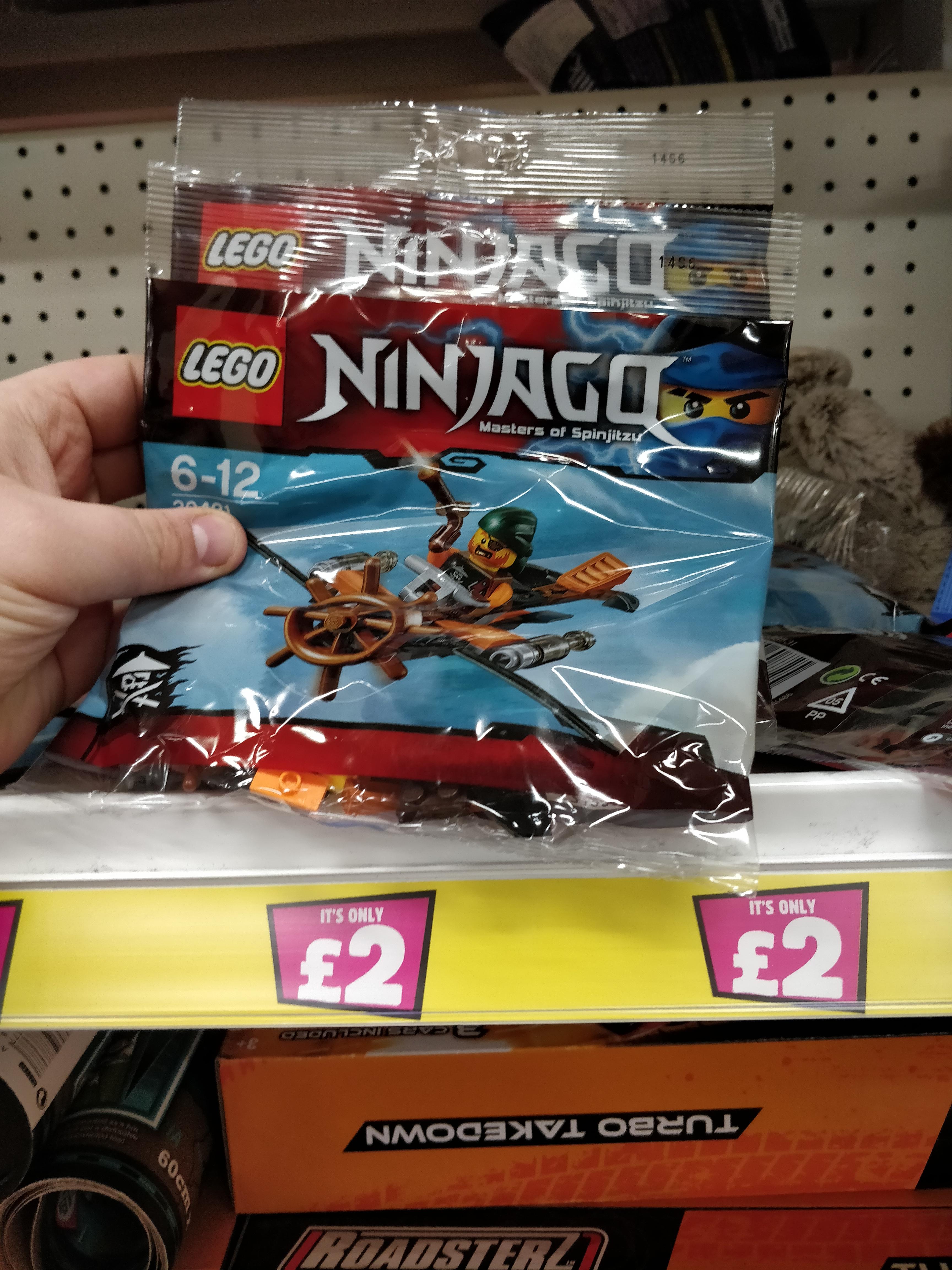 Lego Ninjago Skybound Plane PolyBag 30421 £2- Poundland Belfast