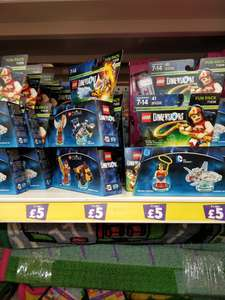 Lego Dimensions Fun Packs! Wonder Woman, Laval and Eris! - Poundland Belfast for £5
