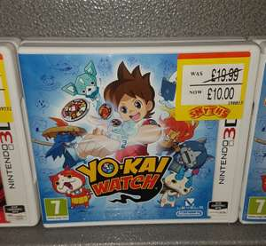 Yo Kai Watch [3DS] £10 @ Smyths