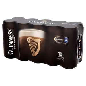 SAINSBURYS 10 pack Guinness scanning as 4 pack £5