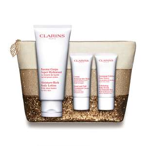 Clarins Body Care Collection + Free delivery, great Mother's Day present £18.60 @ Feel Unique