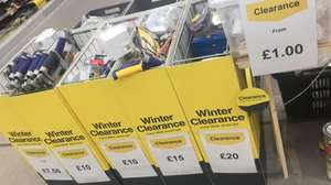 Lots of clearance electrical / plumbing prices start from £1 @ Wickes Rugby
