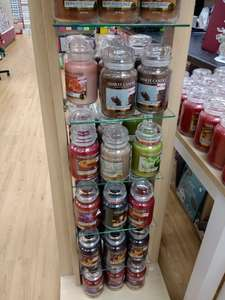 Various Yankee Candle Large Jars for 50% off - Card Centre - Cardiff