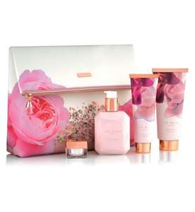 Ted Baker Blush Bouquet Cosmetic Bag Gift £18 @ Boots ( RRP £31 Now available at £18- discount of £13)