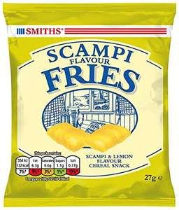 Savoury Selection Scampi Fries, 27 g (Pack of 24) £11.19 Prime / £15.94 Non Prime @ Amazon Warehouse