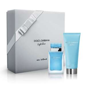 Dolce & Gabbana LIGHT BLUE EAU INTENSE Eau De Parfum 50ml Gift Set £37.40 @ The Fragrance Shop - Code PERFUME15