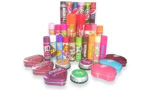 Lip Smacker Lip Balm Set + Extra 18% off when buying through the Groupon App using code APP18 + £1.99 Delivery