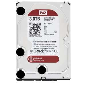 WD RED 3 TB NAS Hard Drive £86.28 delivered Sold by NEW MEDIA PC and Fulfilled by Amazon