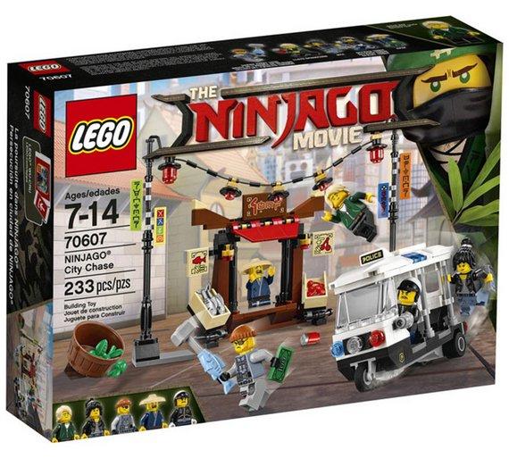 Lego 70607 NINJAGO® City Chase 38% off at Tesco Instore £9.50
