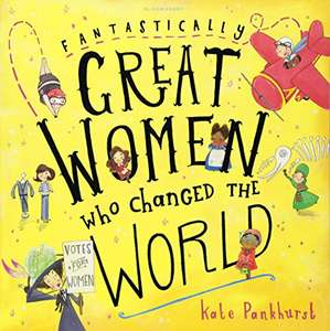 Great women who changed the world book £3.49 Prime £5.48 Non Prime @ Amazon
