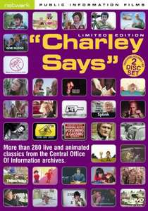 Charley Says... Vol 1 & 2 (More than 280 live and animated classics from the Central Office Of Information archives[DVD] £5.84 Prime £7.83 Non Prime @ Amazon