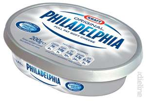 Philadelphia 170-180g tubs (some varieties only available in this size) - £1 on rollback in Asda (5.56-5.88 per kg)