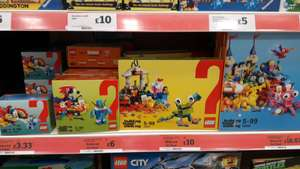 LEGO new fun sets reduced in Sainsburys
