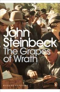6 John Steinbeck Kindle Books on sale at 99p each Amazon (Of Mice and Men, The Grapes of Wrath, Cannery Row, East of Eden, Tortilla Flat, The Pearl: Penguin Modern Classics)