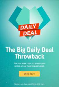Audible, best selling DOTD title's from 99p to £3.99 loads (over 300) available, members only