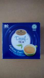 Decaf teabags £0.92 in Aldi