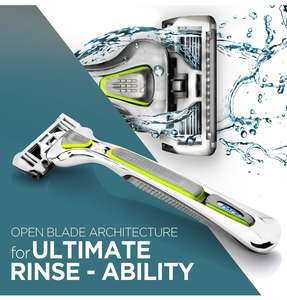Dorco EVE 6 Razor (1 handle + 1 blade) - £7.99 -  Only 99p with code DORCO202 £4.98 non prime Sold by Razors by Dorco and Fulfilled by Amazon