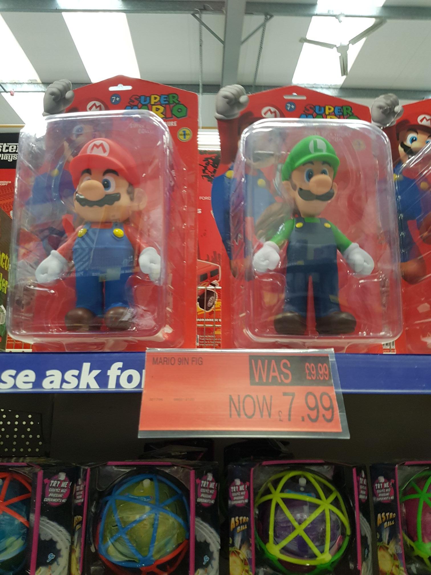 "Mario 9"" figure £7.99 @ B&M"