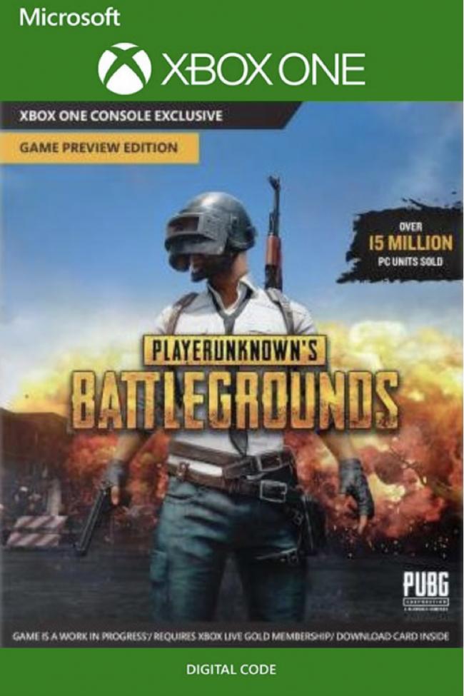 [Xbox One] PlayerUnknown's Battlegrounds (Plus AC: Unity)  - £13.29/£13.99 - CDKeys