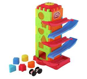 5-in-1 Tower Challenge Game (for toddlers) £6.99 (was £14.99) @ Argos (C&C)