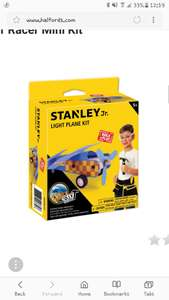 Stanley Air Racer Mini Kit + Other kits for £1 & £2 too in link and Free click and collect at Halfords