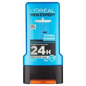 L'Oreal Paris Men Expert Shower Gel 300ml (All Variants) was £3.00 now £1.50 at Asda /Tesco
