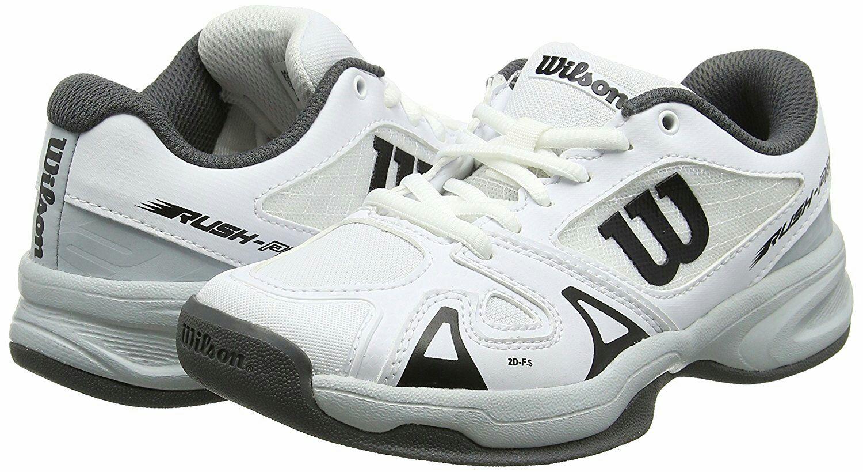Wilson tennis shoes, child size 2 £13.75 prime / £18.50 non prime @ Amazon