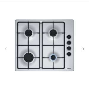 Bosch PBP6B5B60 Gas Hob, Stainless Steel for £147 delivered @ John Lewis