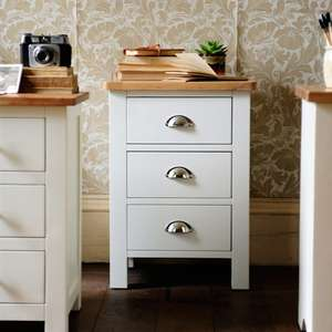 Portland Grey Bedside Drawers Cotswold £89 delivered