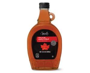Specially Selected  100% Pure Maple Syrup. Aldi - £2.99