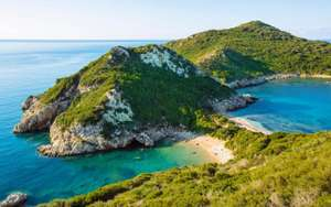 4 nights in Corfu for £103 each (£310 total) including flights, beach hotel and car hire @expedia.co.uk