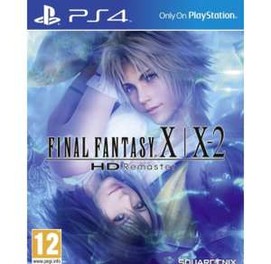 Final Fantasy X/X2 HD (PS4) remastered £14.39 with code @ 365games