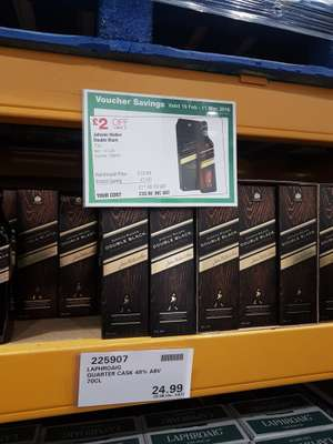 For Costco fans only!!! Johnnie Walker double black 70cl only £20.98 @ Costco Gateshead