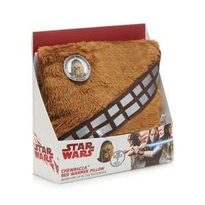 Star Wars - Chewbacca bed warmer pillow + Free Delivery with code SH4Z at Debenhams