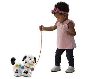 V tech pull along interactive dalmatian now £8.99 was £14.99