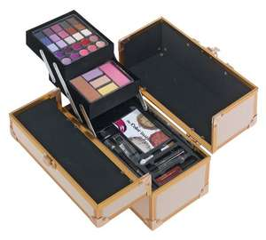 Faux leather colour institute vanity case further reduced to £10.99 @ Argos