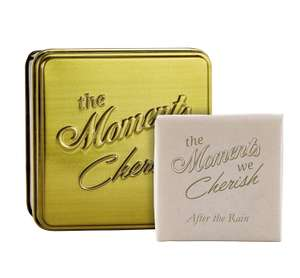 "Arran Aromatics ""The Moments We Cherish"" Triple-Milled Soap Tin (After The Rain Scent) £1, RRP £5, In Watt Brothers, Robroyston, Glasgow In Store"