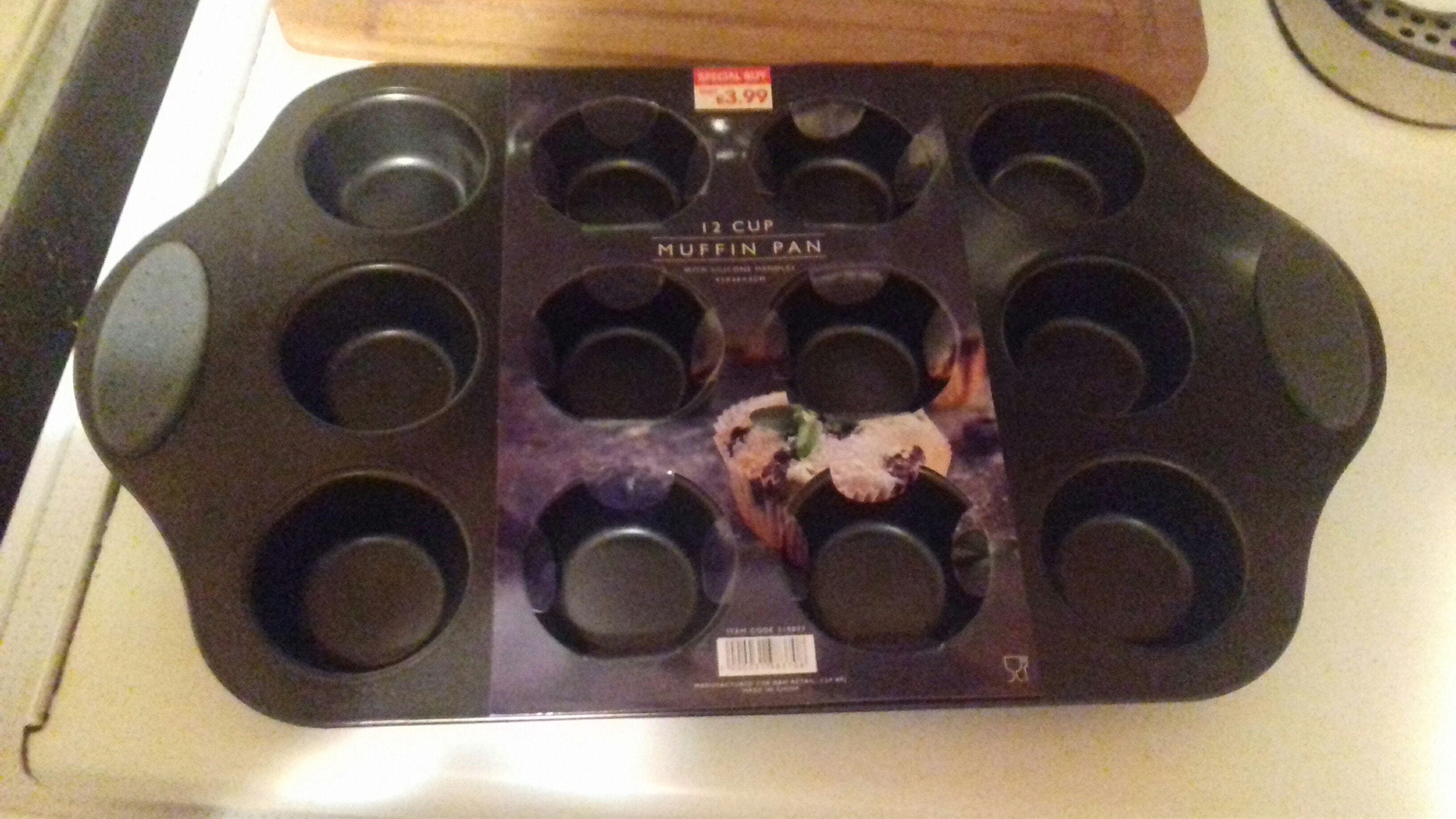 Muffin tray £1 @ b&m