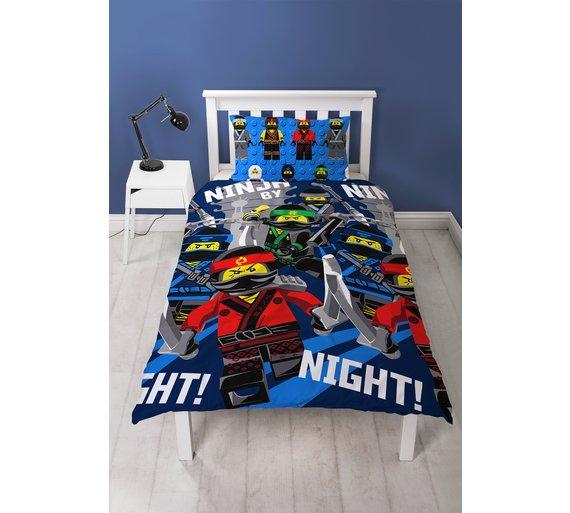 Lego Ninjago movie single bedding set £12.99 @ Argos