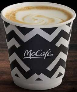Free McDonald's flat white in  today's metro newspaper - voucher on page 3