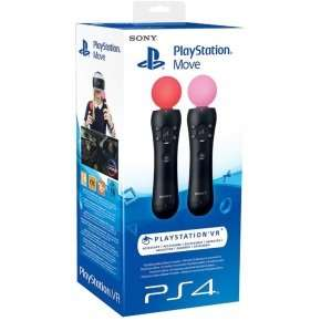 PS4 Move Controllers - Twin Pack @ Ebuyer - £62.98 (free delivery)