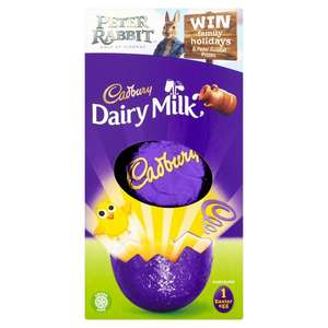 Cadbury Dairy Milk Easter Egg 72g @ Morrisons