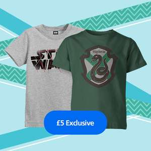 Kids T-Shirt for only £5 at iwoot with o2 Priority